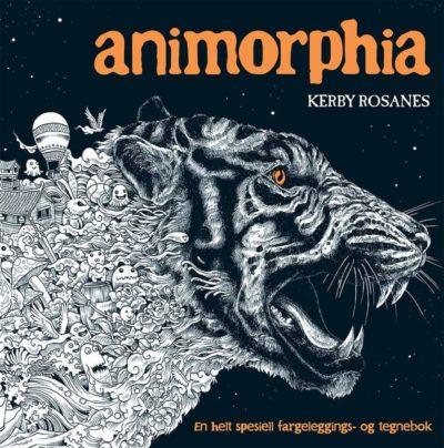 Animorphia – fargelegging og tegning