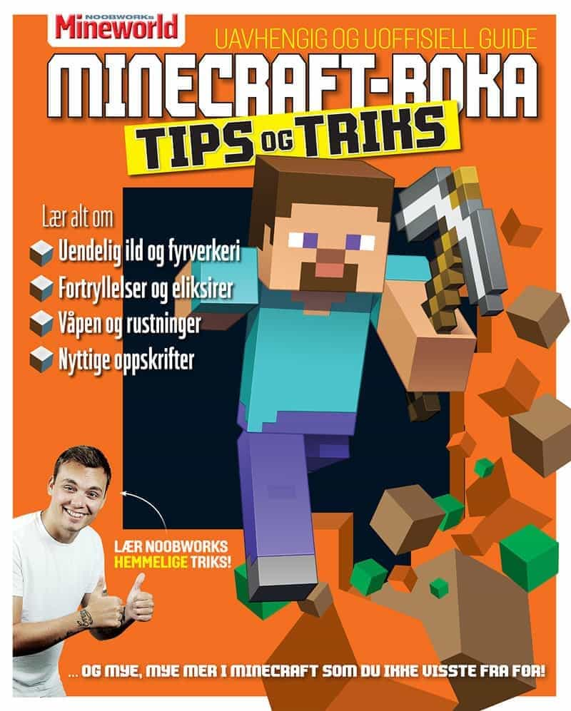 Minecraft-boka 2; Tips og triks