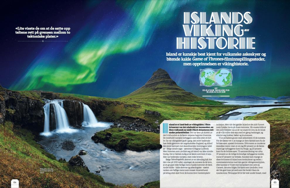 Islands vikinghistorie, oppslag