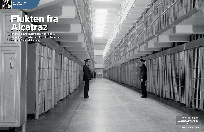 Flukten fra Alcatraz, oppslag