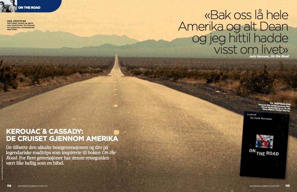 Kerouac & Cassady: de cruiset gjennom Amerika, oppslag