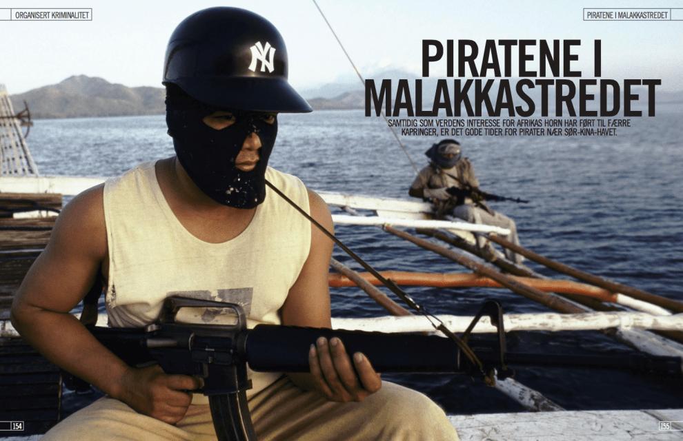 Piratene i Malakkastredet, oppslag