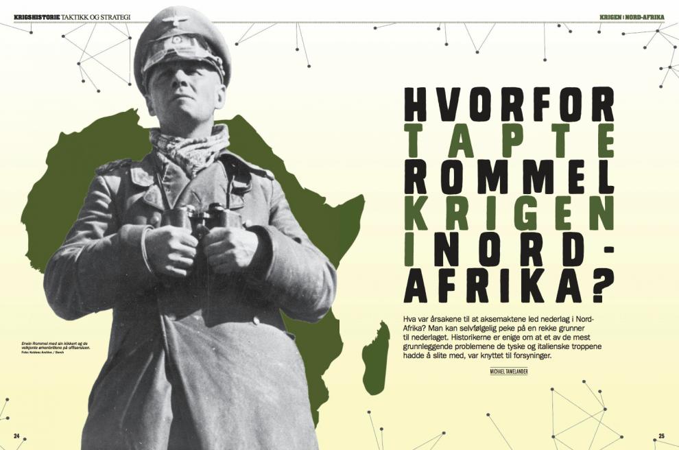 Hvorfor tapte Rommel krigen i Nord-Afrika? – Oppslag