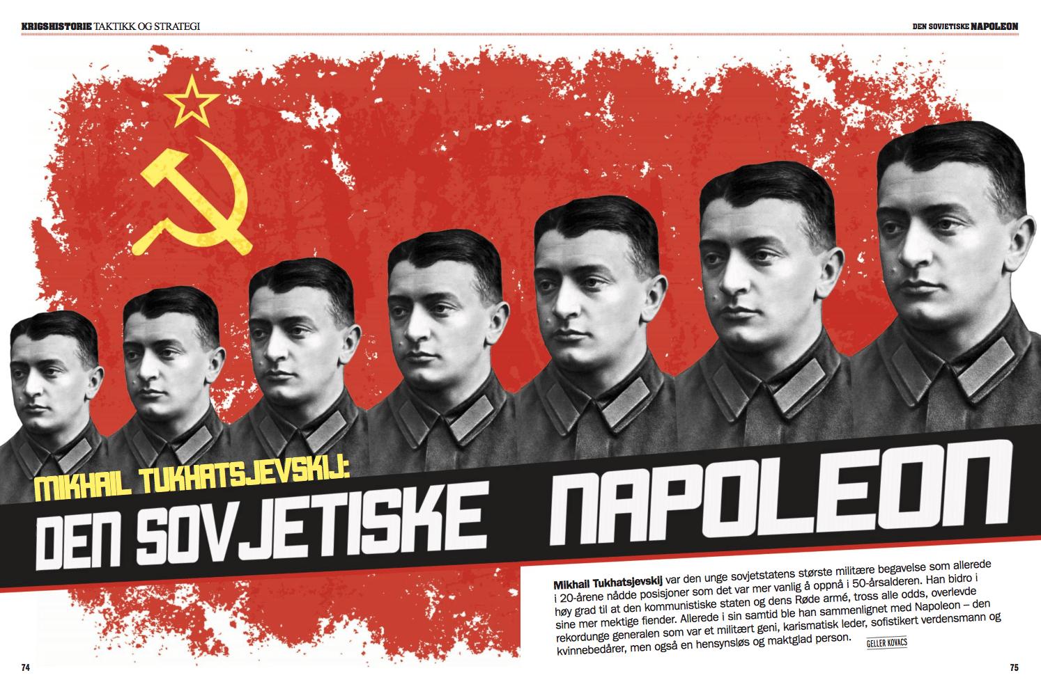 Mikhail Tukhatsjevskij: Den sovjetiske Napoleon, oppslag