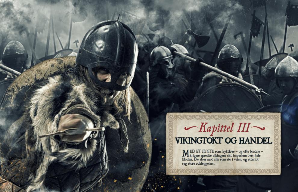 Vikingtokt og handel, oppslag