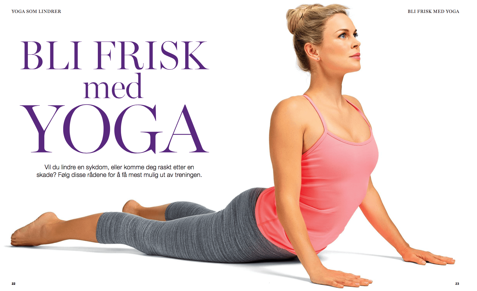 Yoga som lindrer, oppslag