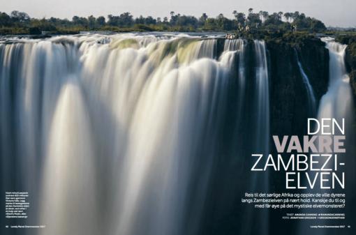 Den vakre Zambezielven, oppslag