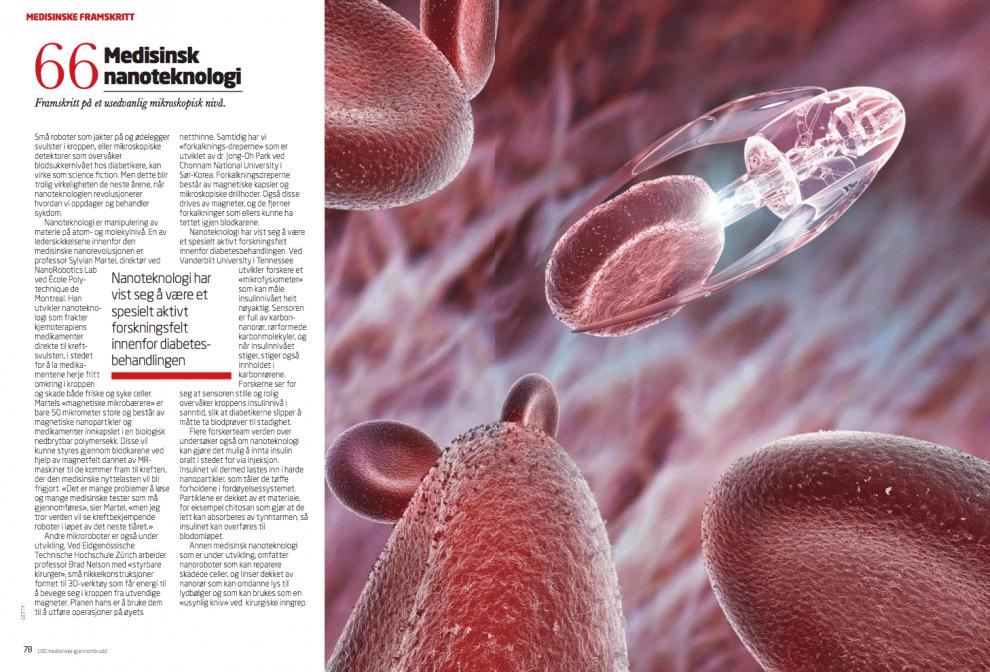 100 medisinske gjennombrudd: medisinsk nanoteknologi, oppslag
