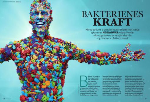 Naturlig medisin: bakterienes kraft, oppslag
