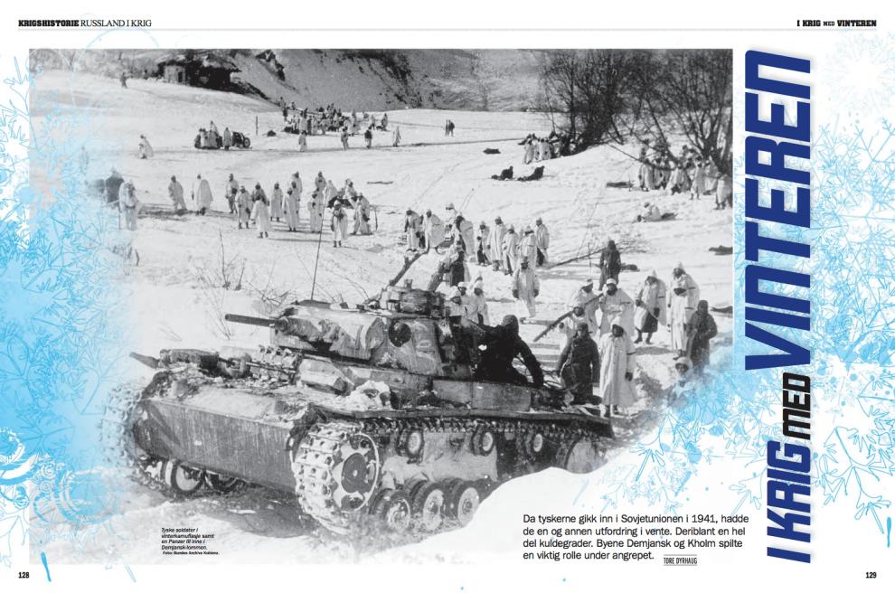I krig med vinteren, oppslag