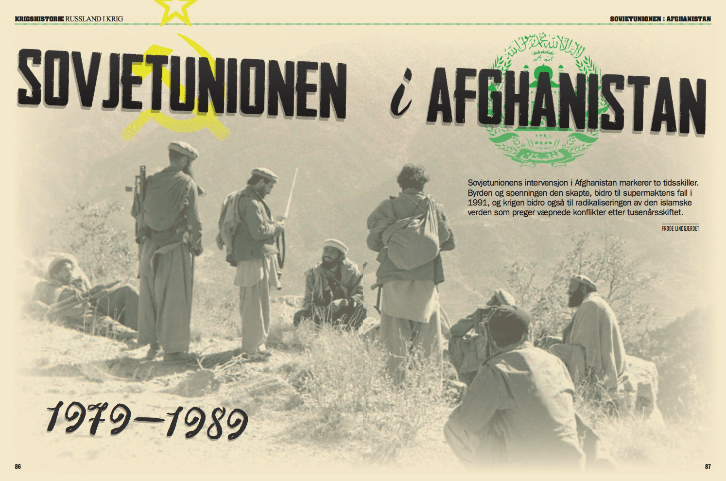 Sovjetunionen i Afghanistan, oppslag