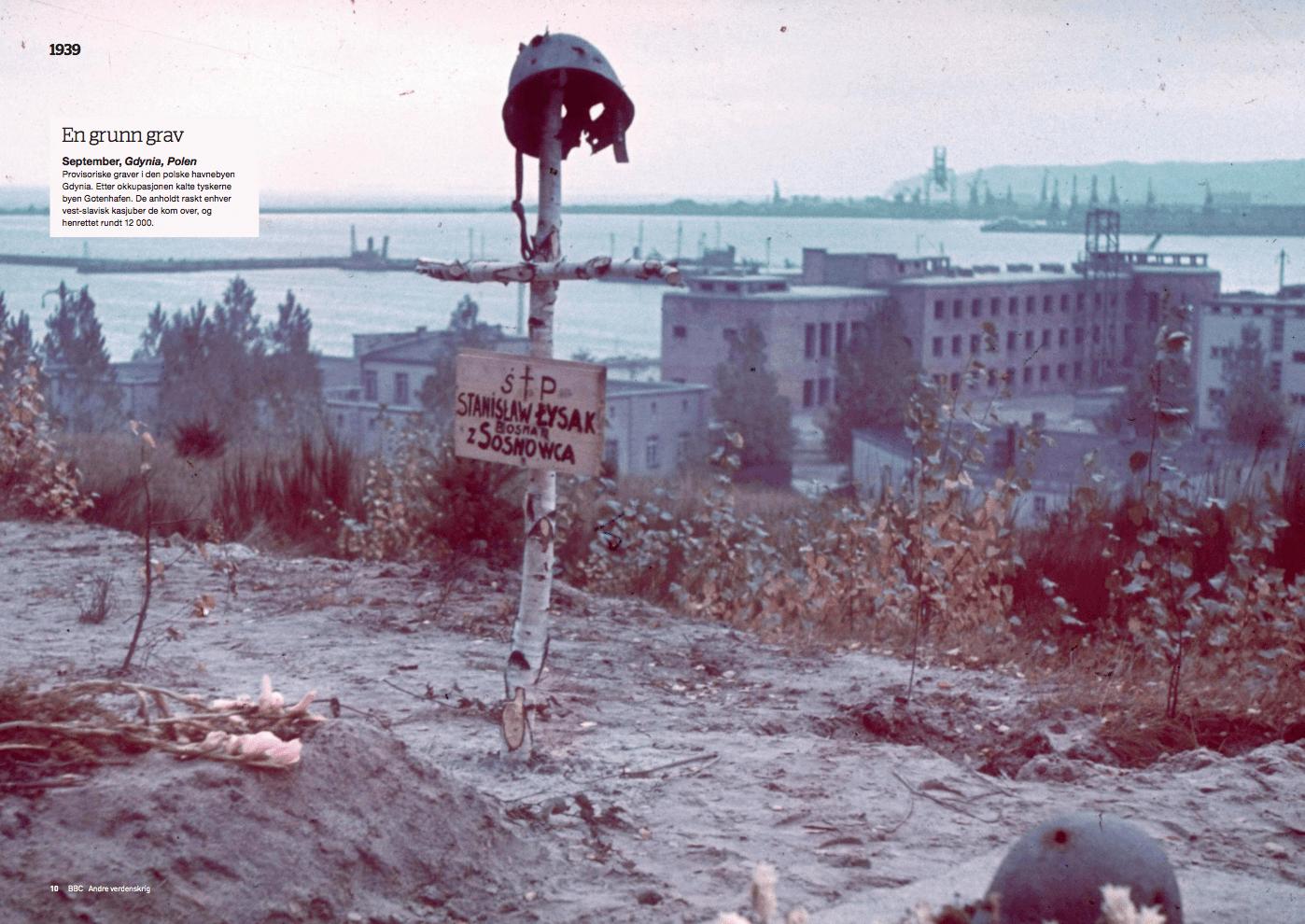 Krigsåret 1939, oppslag