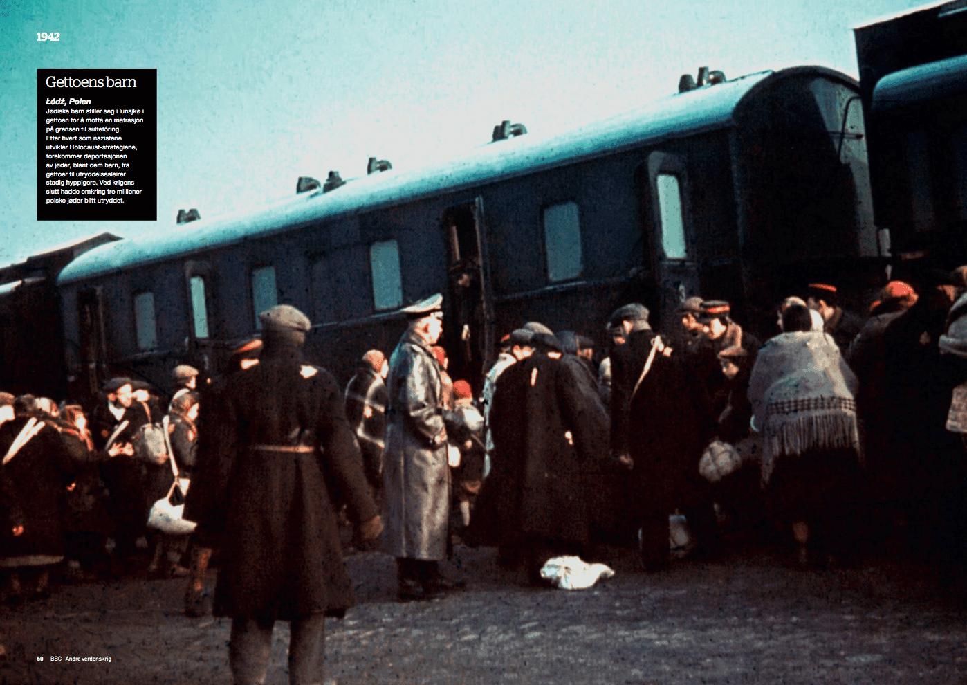 Krigsåret 1942, oppslag