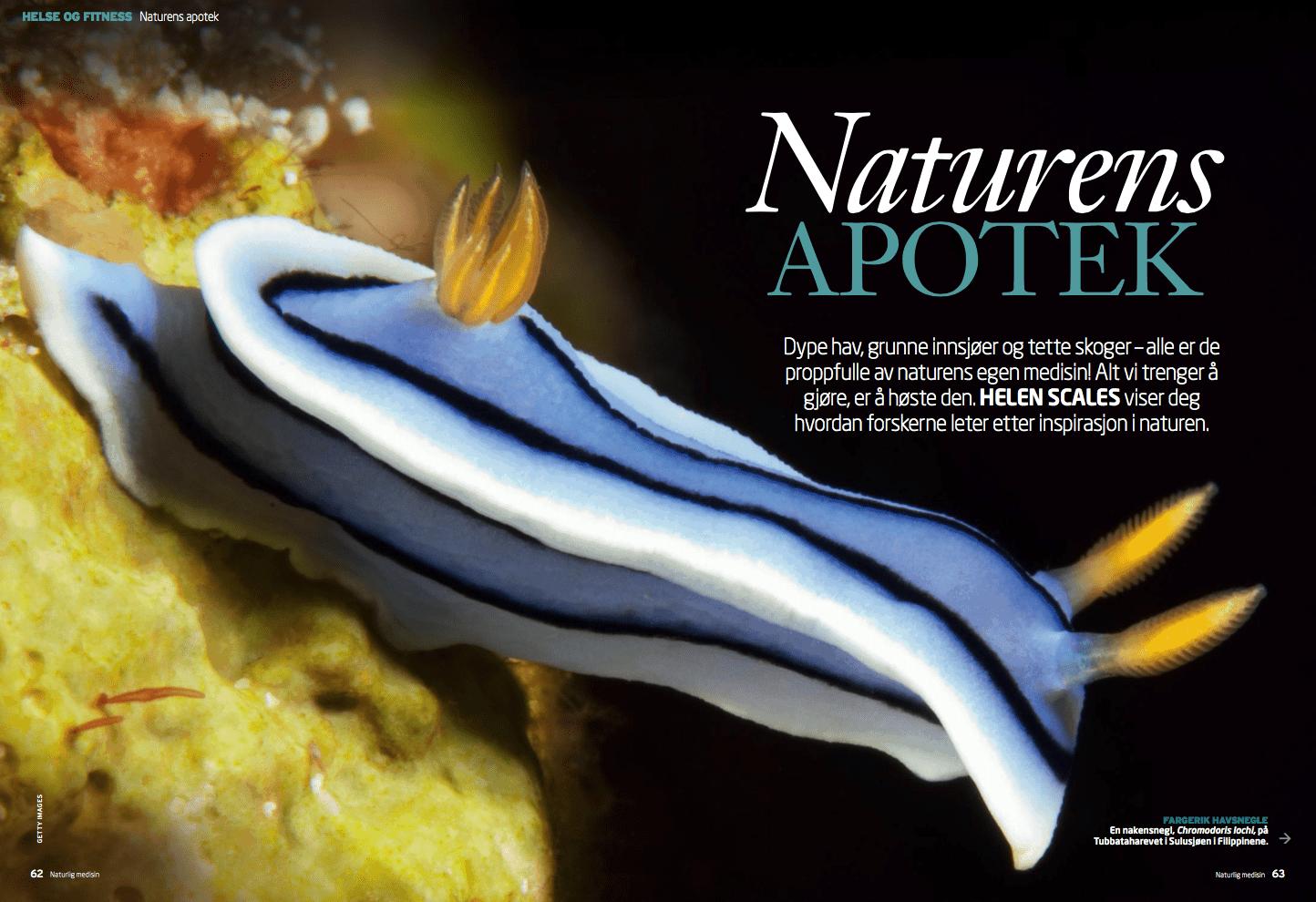 Naturens apotek, oppslag