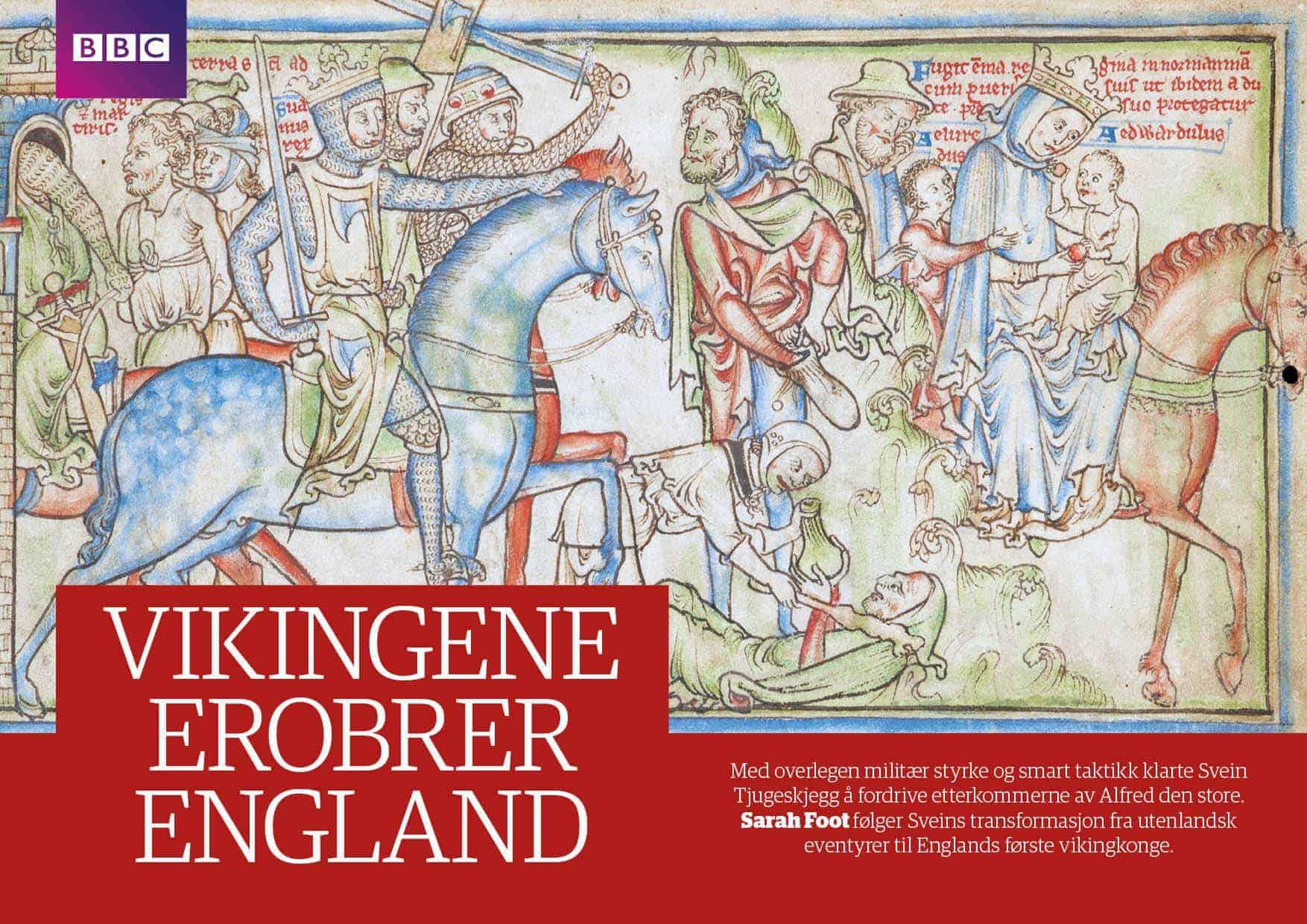 Vikingene erobrer England