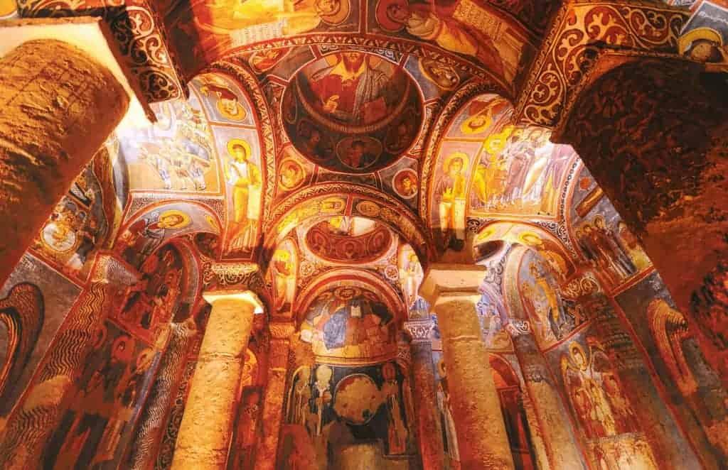 Grottekirkene i Kappadokia