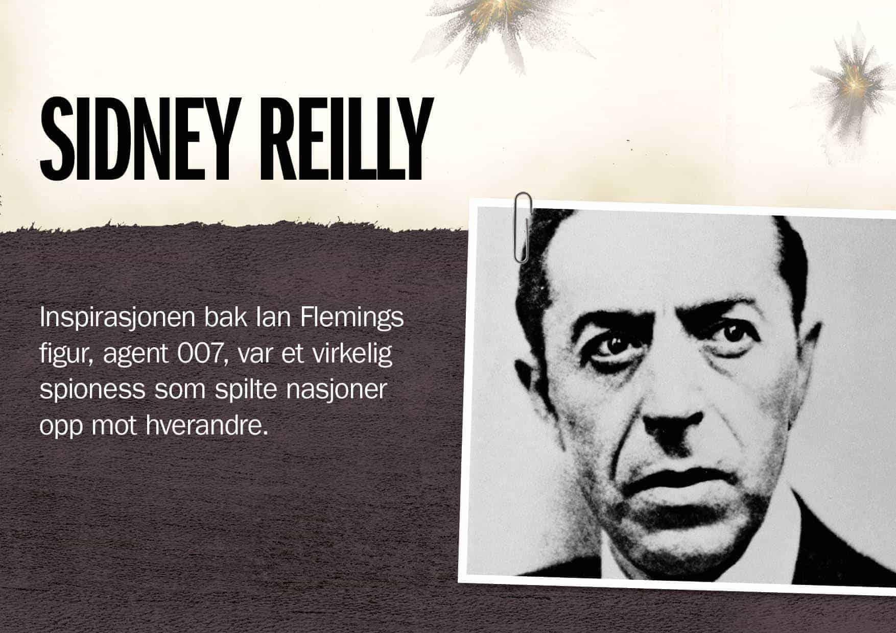 Superspioner: Sidney Reilly