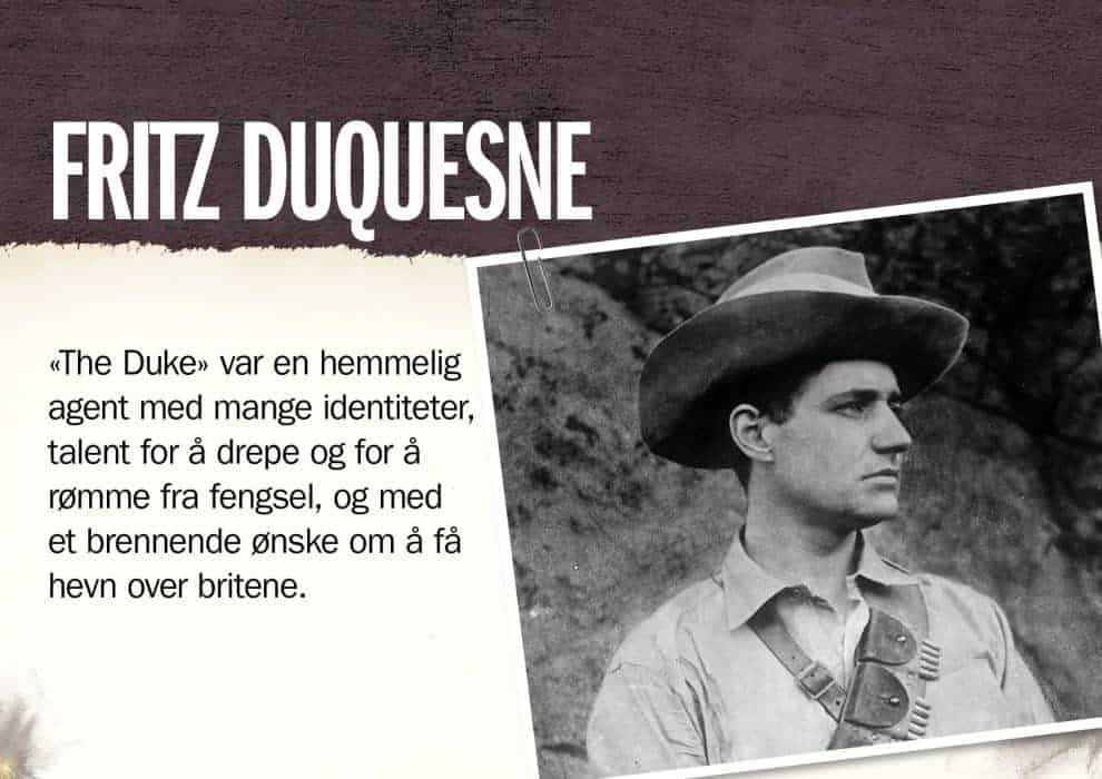 Superspioner: Fritz Duquesne