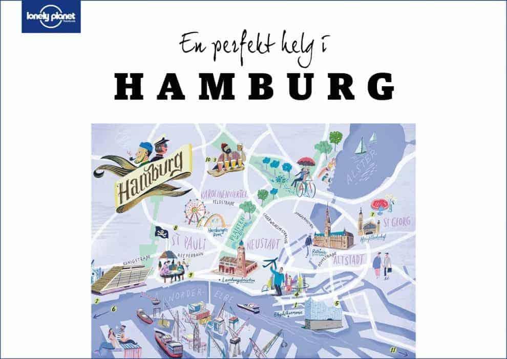 En perfekt dag i Hamburg