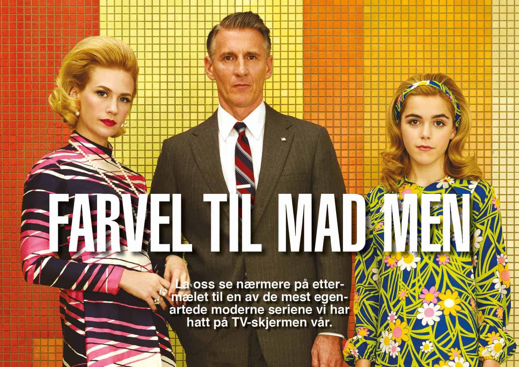 Farvel til Mad Men
