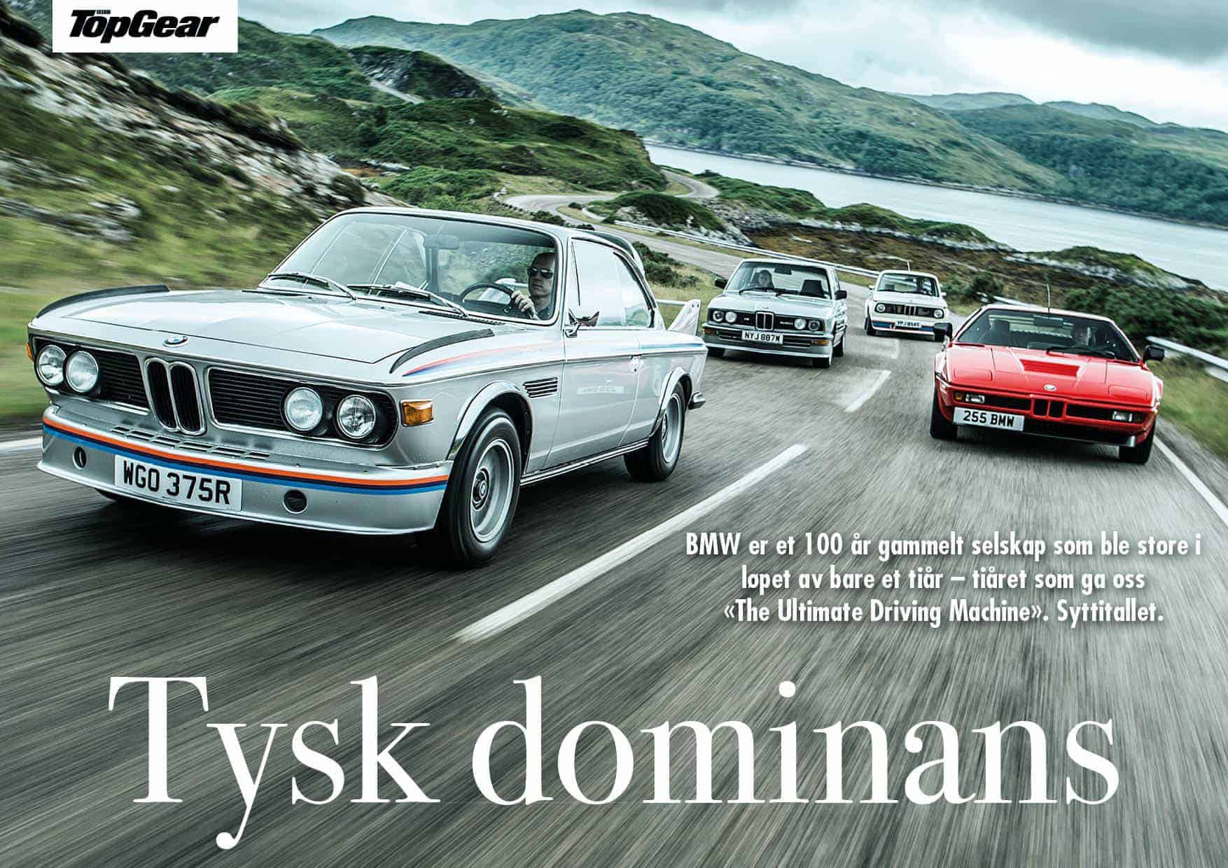 BMW: Tysk dominans