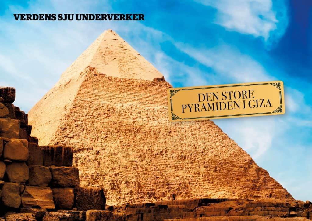 De sju underverker: Pyramiden i Giza