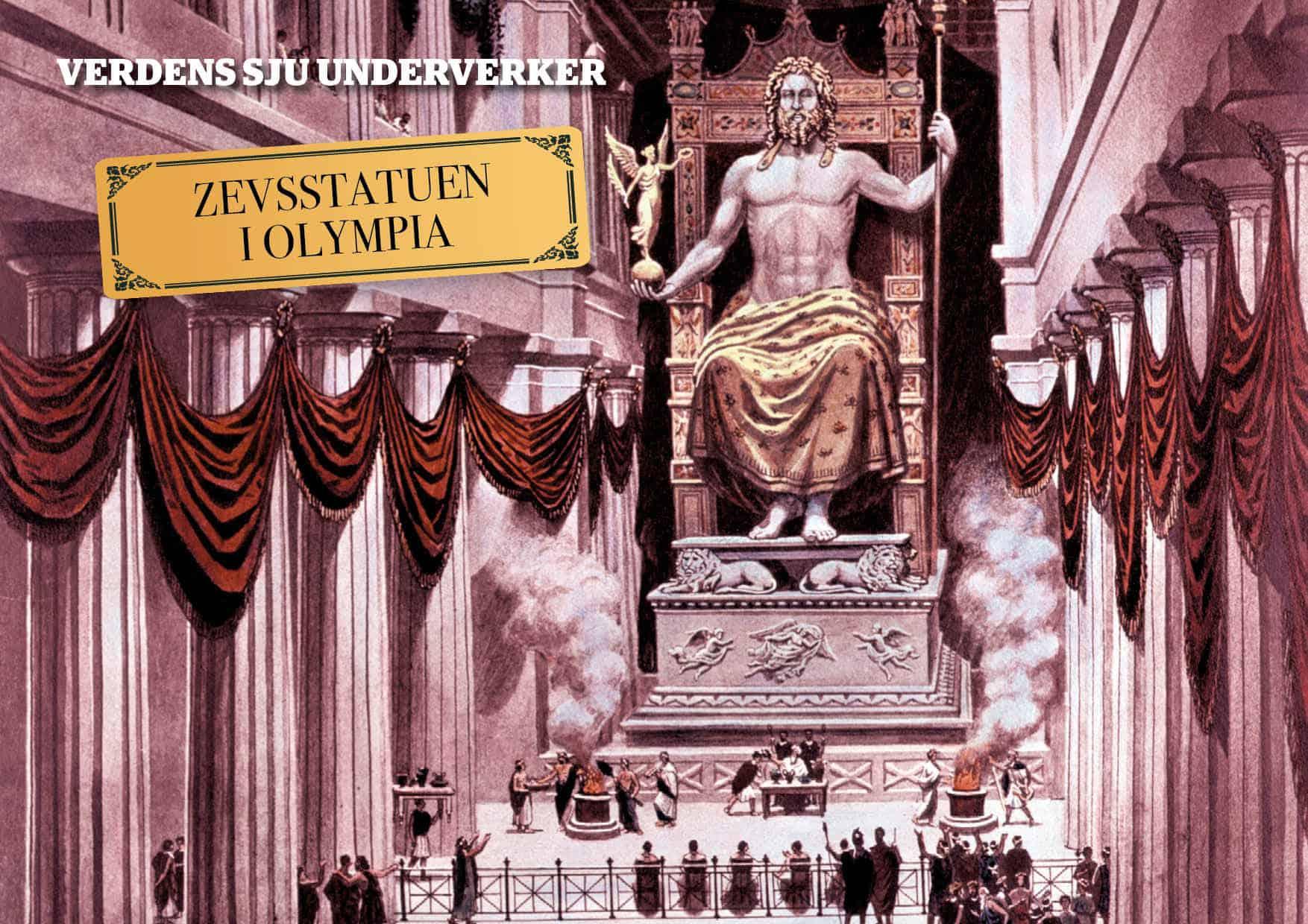 De sju underverker: Zevsstatuen i Olympia