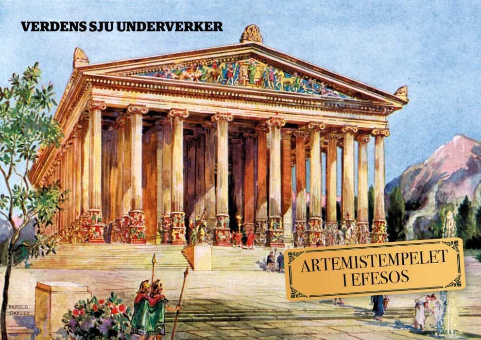 De sju underverker: Artemistempelet i Efesos