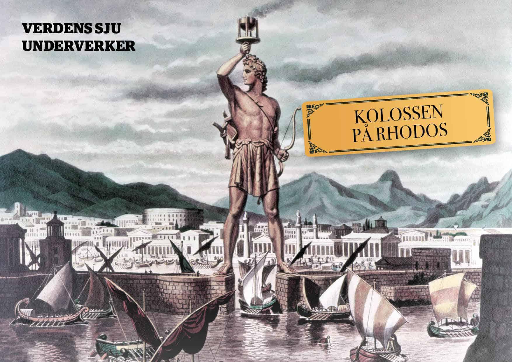 De sju underverker: Kolossen på Rhodos