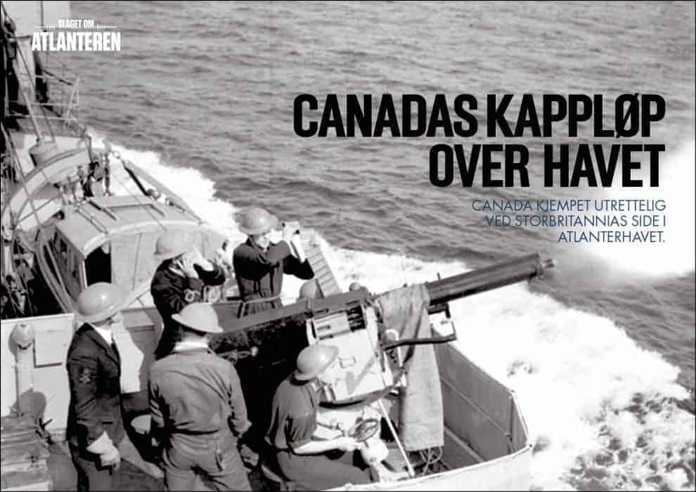 Canadas kappløp over havet