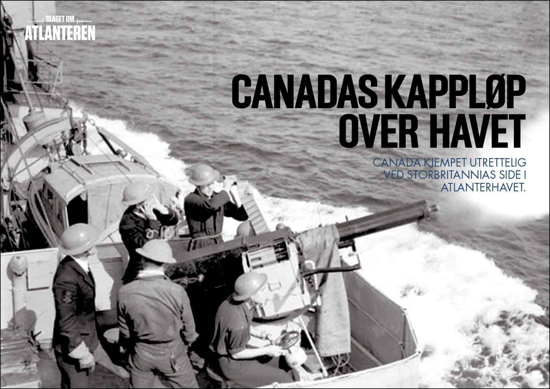 Canadas kappløp over havet