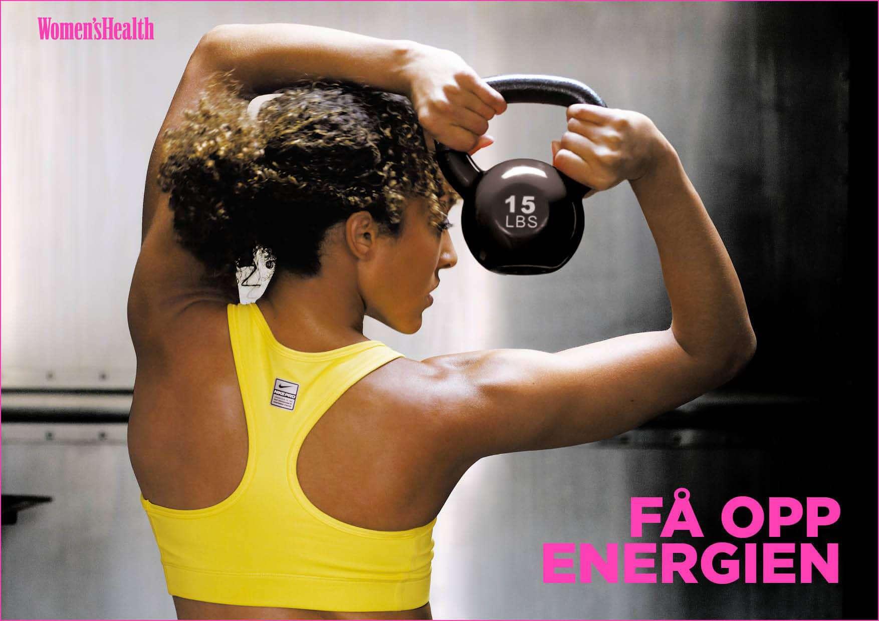 Få opp energien