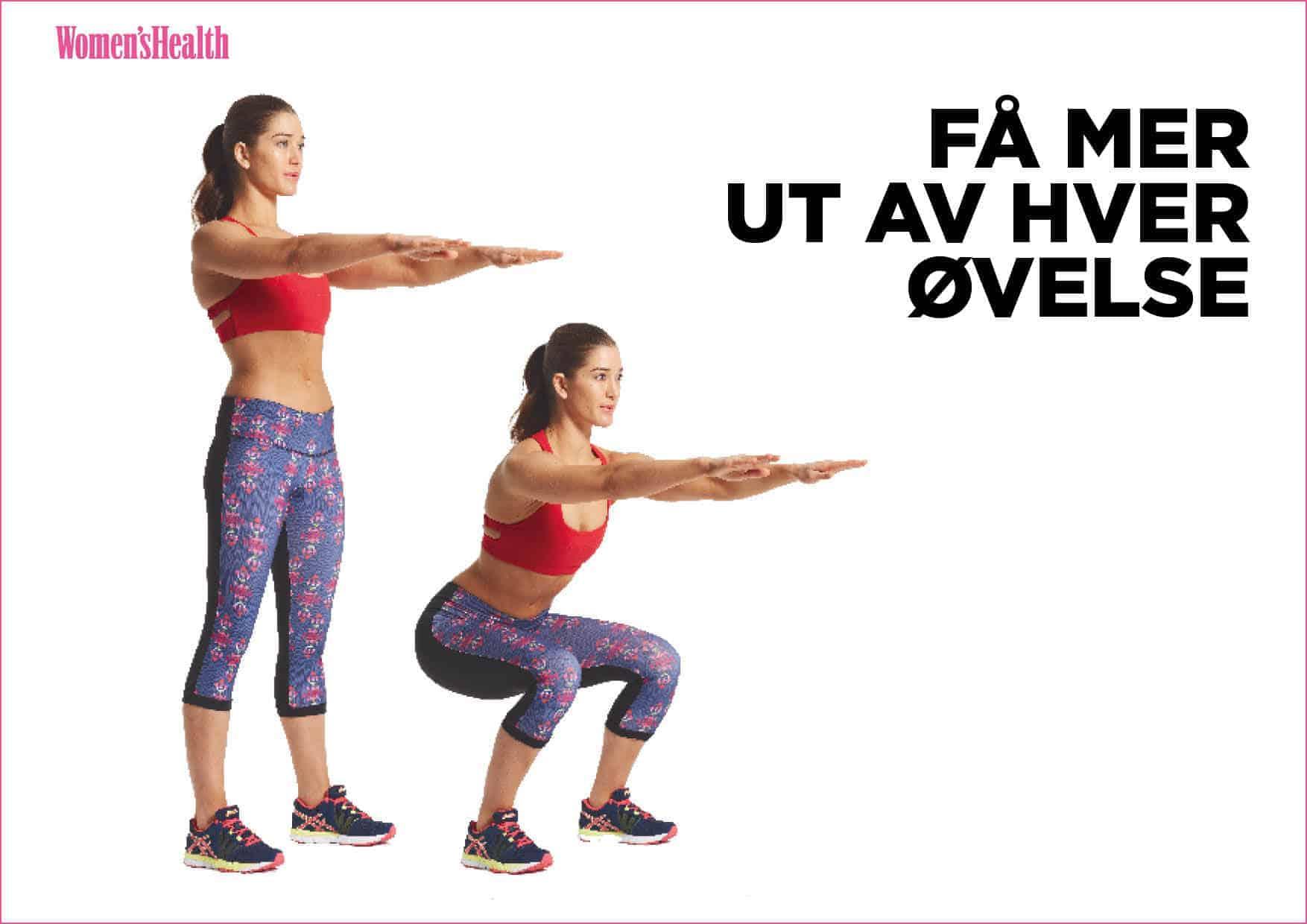 Få mer ut av hver øvelse
