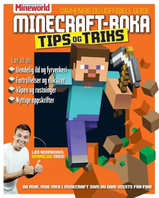 Minecraft-boka 2; Tips og triks