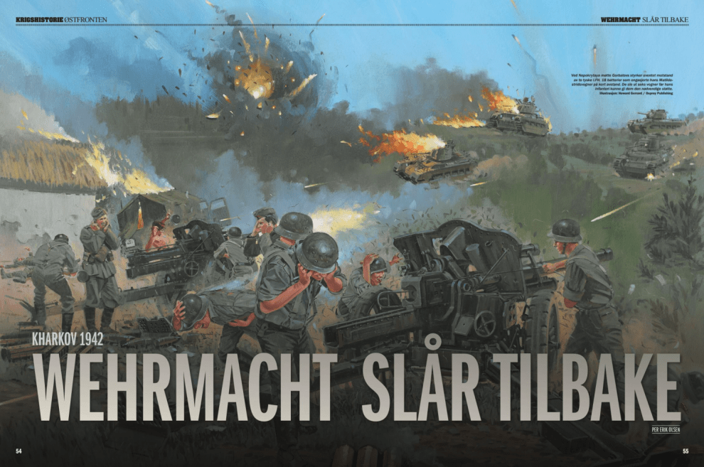 Wehrmacht slår tilbake, oppslag