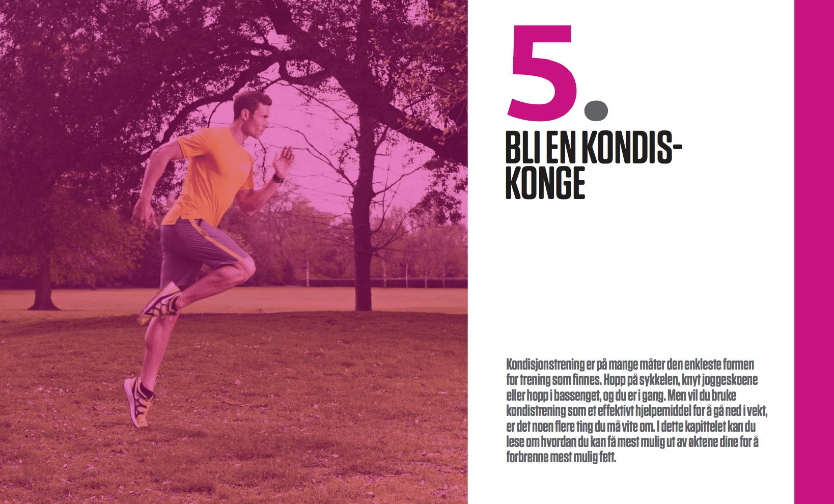 7 regler: bli en kondiskonge, oppslag