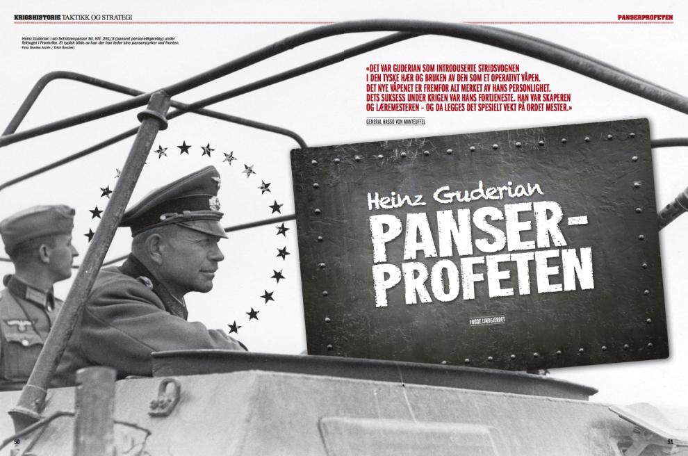 Heinz Guderian: Panserprofeten, oppslag