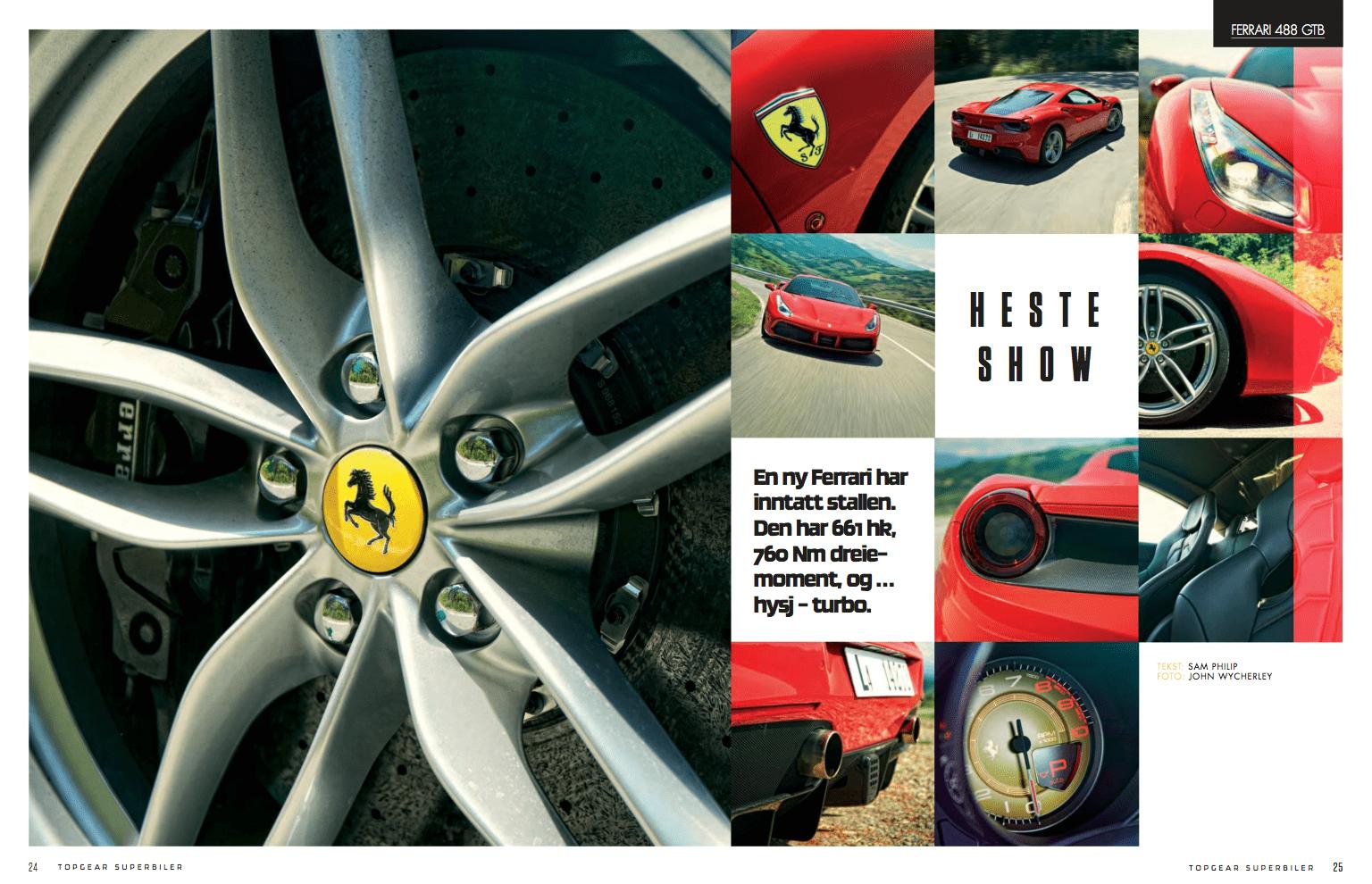 Hesteshow – Ferrari