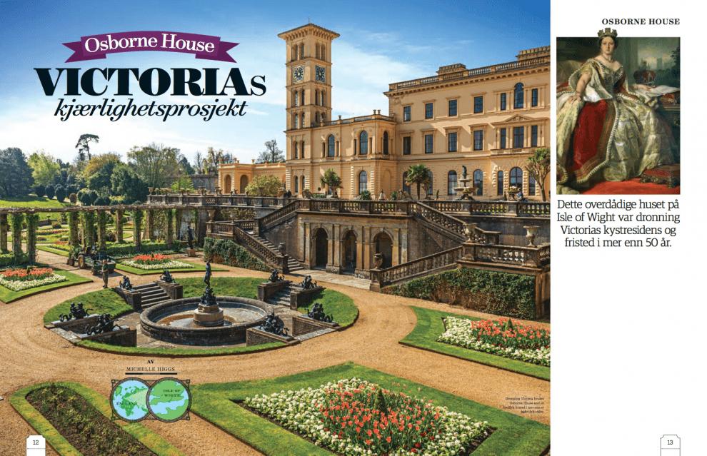 Osborne House – Victorias kjærlighetsprosjekt, oppslag