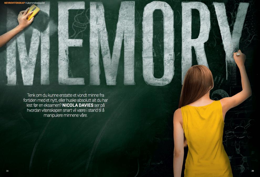 Memory: minnemanipulasjon, oppslag