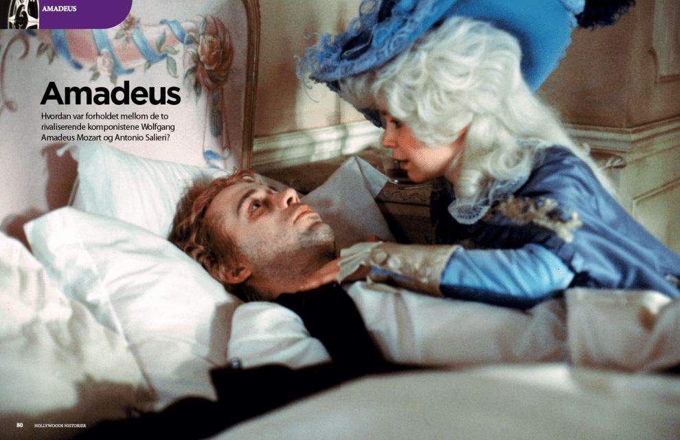 Amadeus, oppslag