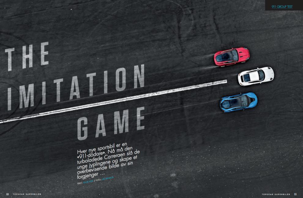Imitation game, oppslag