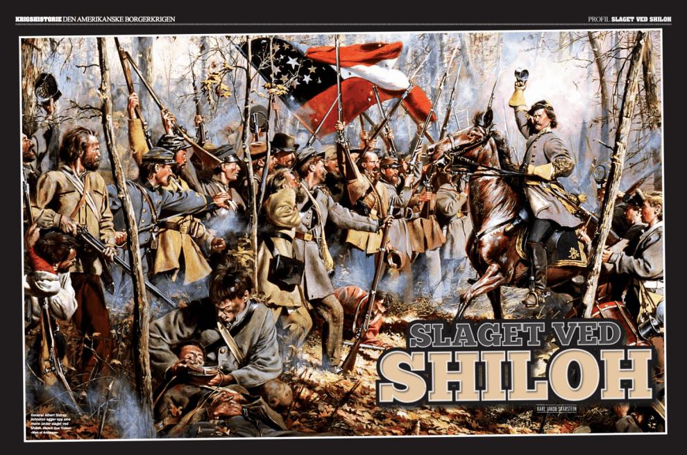 Den amerikanske borgerkrigen: Slaget ved Shiloh, oppslag