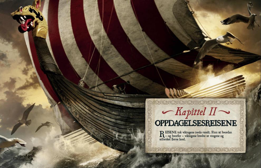 Vikingenes oppdagelsesreiser, oppslag