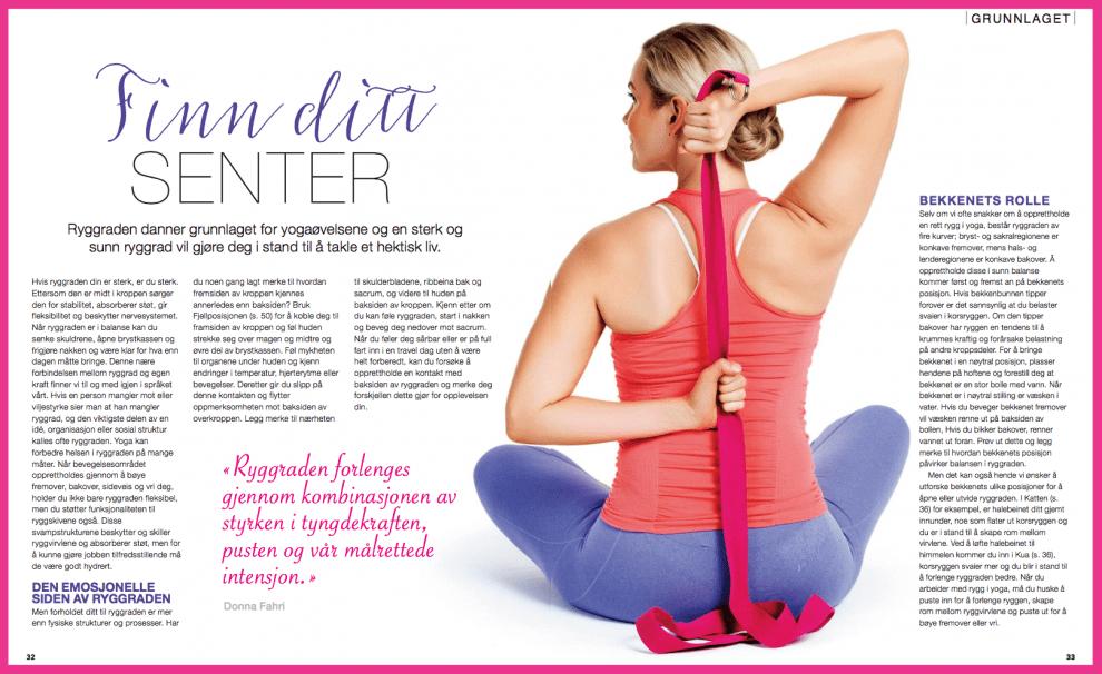 Yoga: finn ditt senter, oppslag