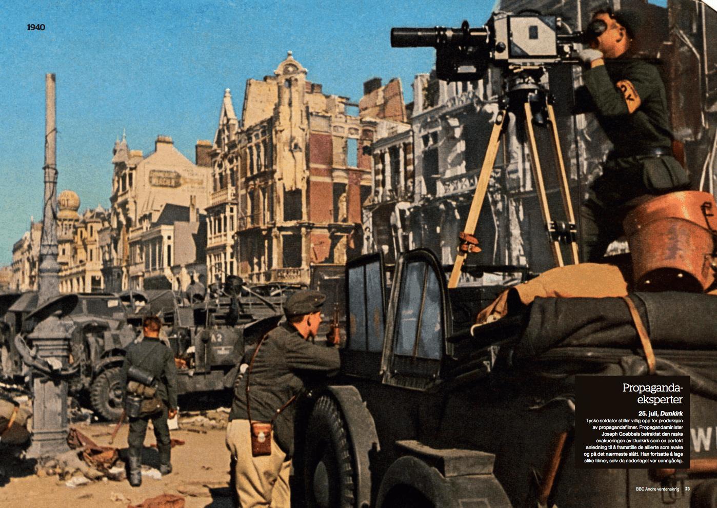 Krigsåret 1940, oppslag
