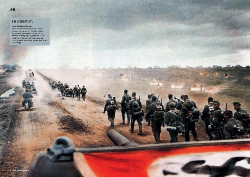 Krigsåret 1941, oppslag