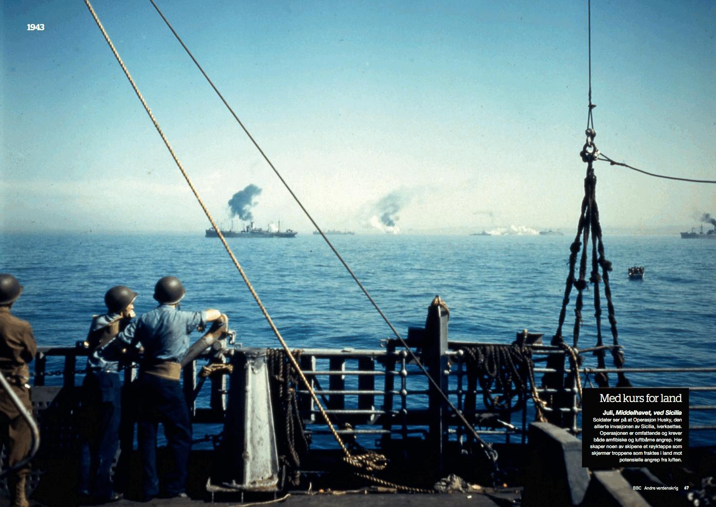 Krigsåret 1943, oppslag