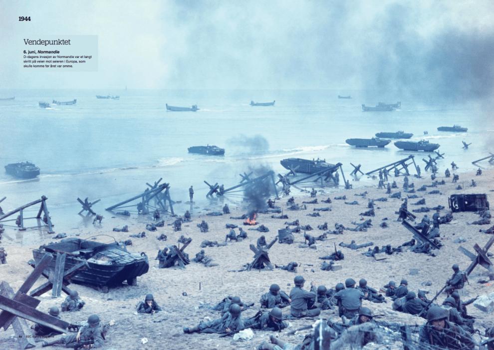 Krigsåret 1944, oppslag