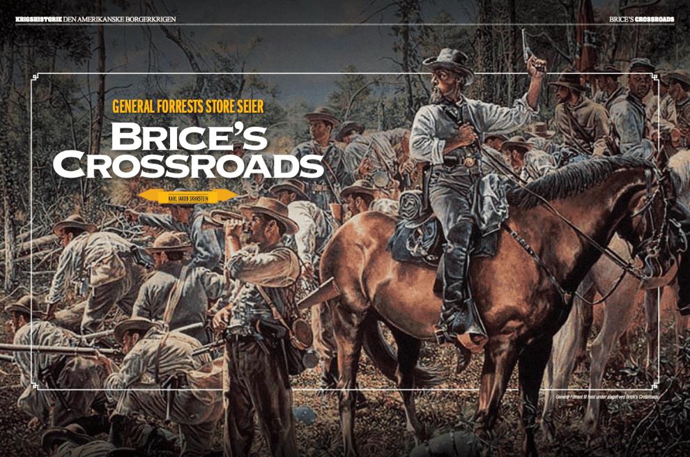 Brice's Crossroads, oppslag